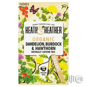 Organic Dandelion, Burdock and Hawthorn Tea for Detox   Vitamins & Supplements for sale in Lagos State, Victoria Island