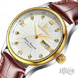 Men'S Ultra-Thin Leather Wrist Watch: | Watches for sale in Lagos State, Kosofe