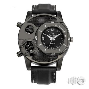 Men'S Leather Silicon Watch | Watches for sale in Lagos State, Kosofe