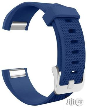 Replacement Watch Band Strap Watchband For Fitbit Charge 2 Watch Dark Blue   Smart Watches & Trackers for sale in Lagos State, Agboyi/Ketu