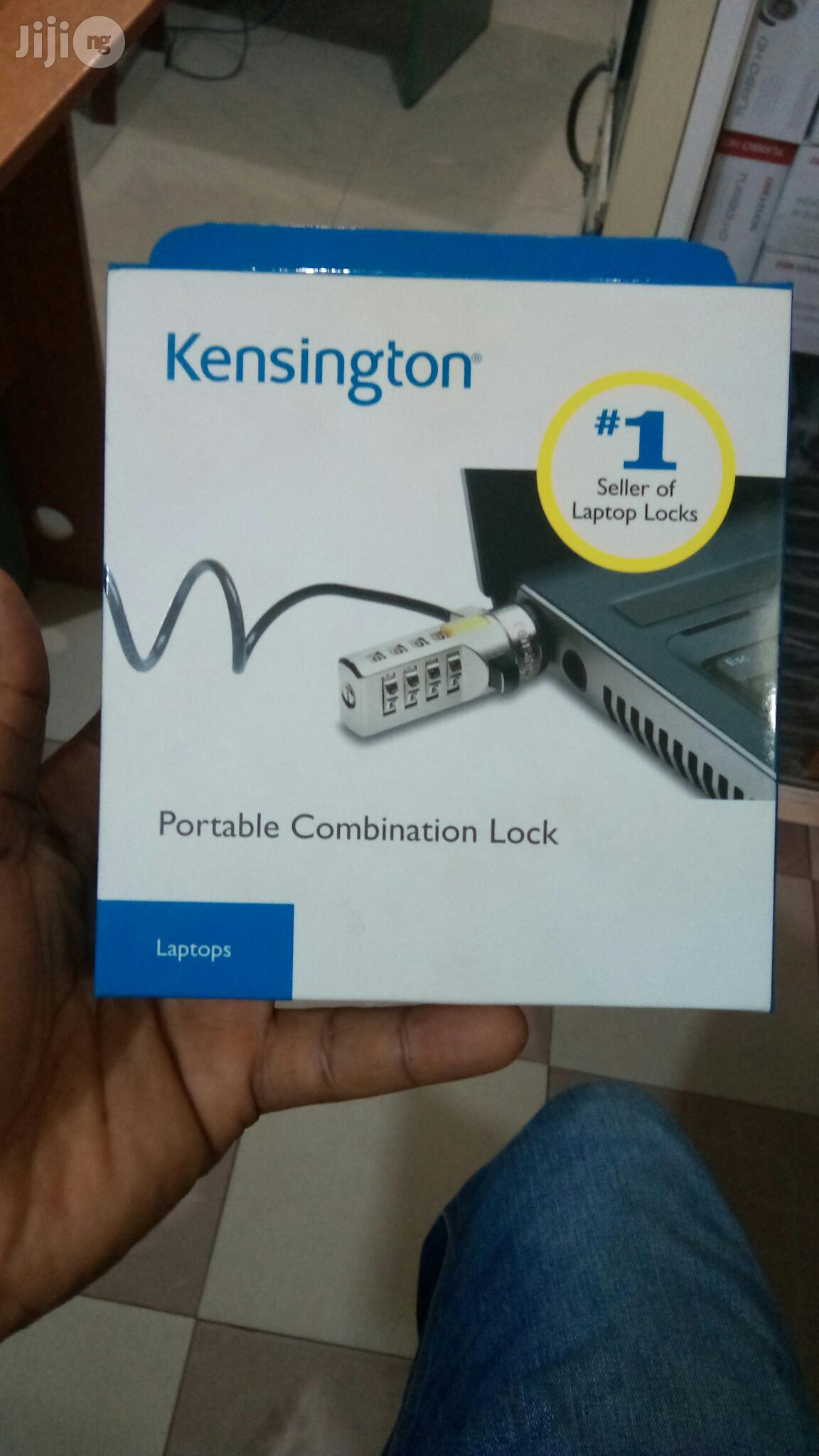 Kensington Laptop Lock Portable Combination Lock