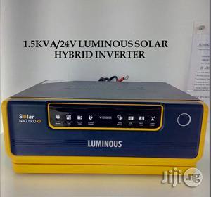 Luminous 1.5kva/24V Hybrid Inverter   Electrical Equipment for sale in Lagos State, Ikeja