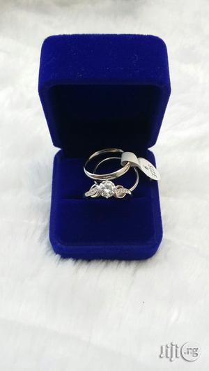 Silver Stainless Steel Wedding Ring Couples | Wedding Wear & Accessories for sale in Lagos State, Ajah