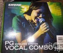 Shure Wireless Microphone (Blx288/Pg58)   Audio & Music Equipment for sale in Lagos State, Ojo
