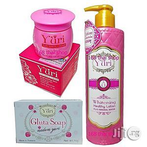 Yuri Skin Care Whitening Healthy Lotion Body Cream + Face Cream + Gluta Soap | Bath & Body for sale in Lagos State, Ojo