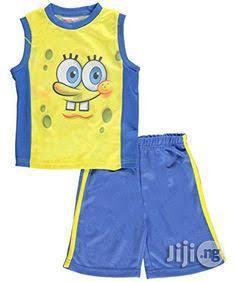 Spongebob Squarepants 2 Piece Set - 2Y   Children's Clothing for sale in Lagos State, Surulere