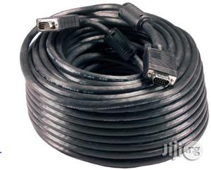 Unbranded VGA To VGA Cable - 50m   Accessories & Supplies for Electronics for sale in Lagos State, Ikeja