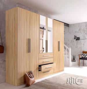 Manhathan Wardrobe Brown | Furniture for sale in Lagos State, Ipaja