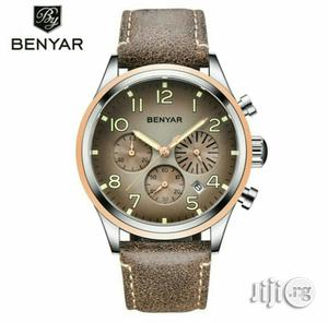 Benyar Leather Watch   Watches for sale in Lagos State