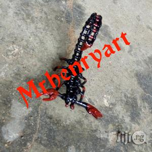 Art Work African Red Scorpion | Arts & Crafts for sale in Lagos State, Ajah