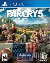 Far Cry 5.Ps4 Playstation 4 Preowned Clean | Video Games for sale in Lagos State, Ikeja