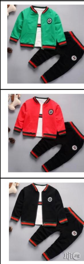 Unisex Gucci 3set Wears   Children's Clothing for sale in Lagos State, Surulere