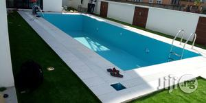Swimming Pool With Synthetic Turf/Grass | Building & Trades Services for sale in Lagos State, Ikeja
