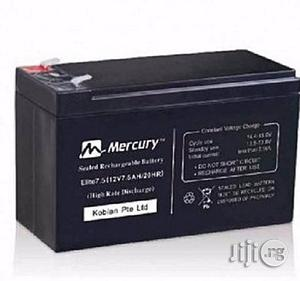 Mercury 7.5ah 12v Ups Battery | Computer Hardware for sale in Lagos State, Victoria Island