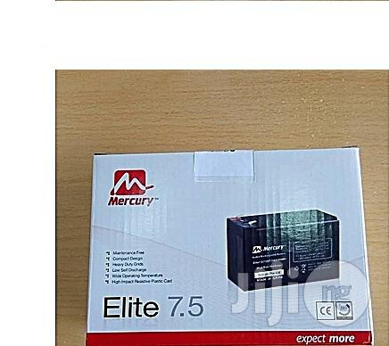 Mercury 7.5ah 12v Ups Battery | Computer Hardware for sale in Victoria Island, Lagos State, Nigeria