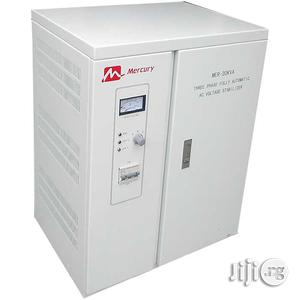 Mercury 30kva 3-phase Fully Automatic AC Voltage Stabilizer | Electrical Equipment for sale in Lagos State, Victoria Island