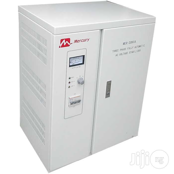 Mercury 30kva 3-phase Fully Automatic AC Voltage Stabilizer