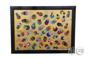 Ankara Portrait Frame Artwork G01 - Handmade   Arts & Crafts for sale in Lagos State, Ikeja