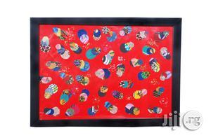 Ankara Portrait Frame Artwork Ro1 - Handmade (Black Friday)   Arts & Crafts for sale in Lagos State, Ojodu