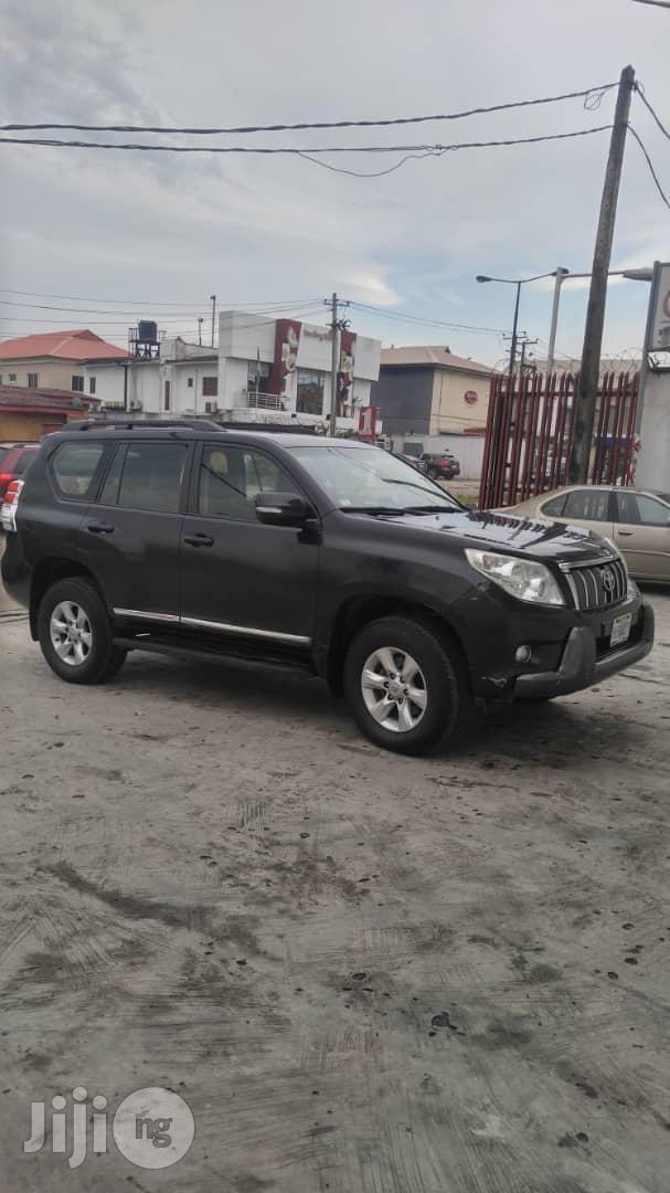 Toyota Land Cruiser Prado 2013 Black