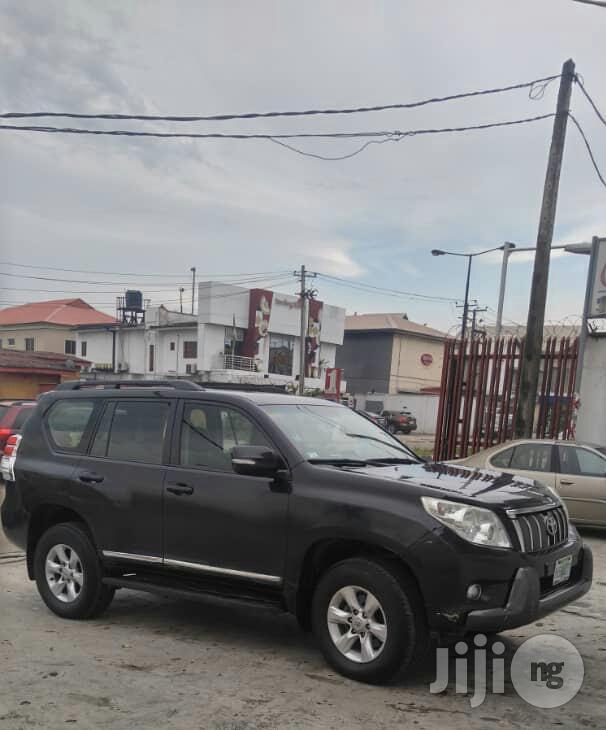 Toyota Land Cruiser Prado 2013 Black   Cars for sale in Ikeja, Lagos State, Nigeria