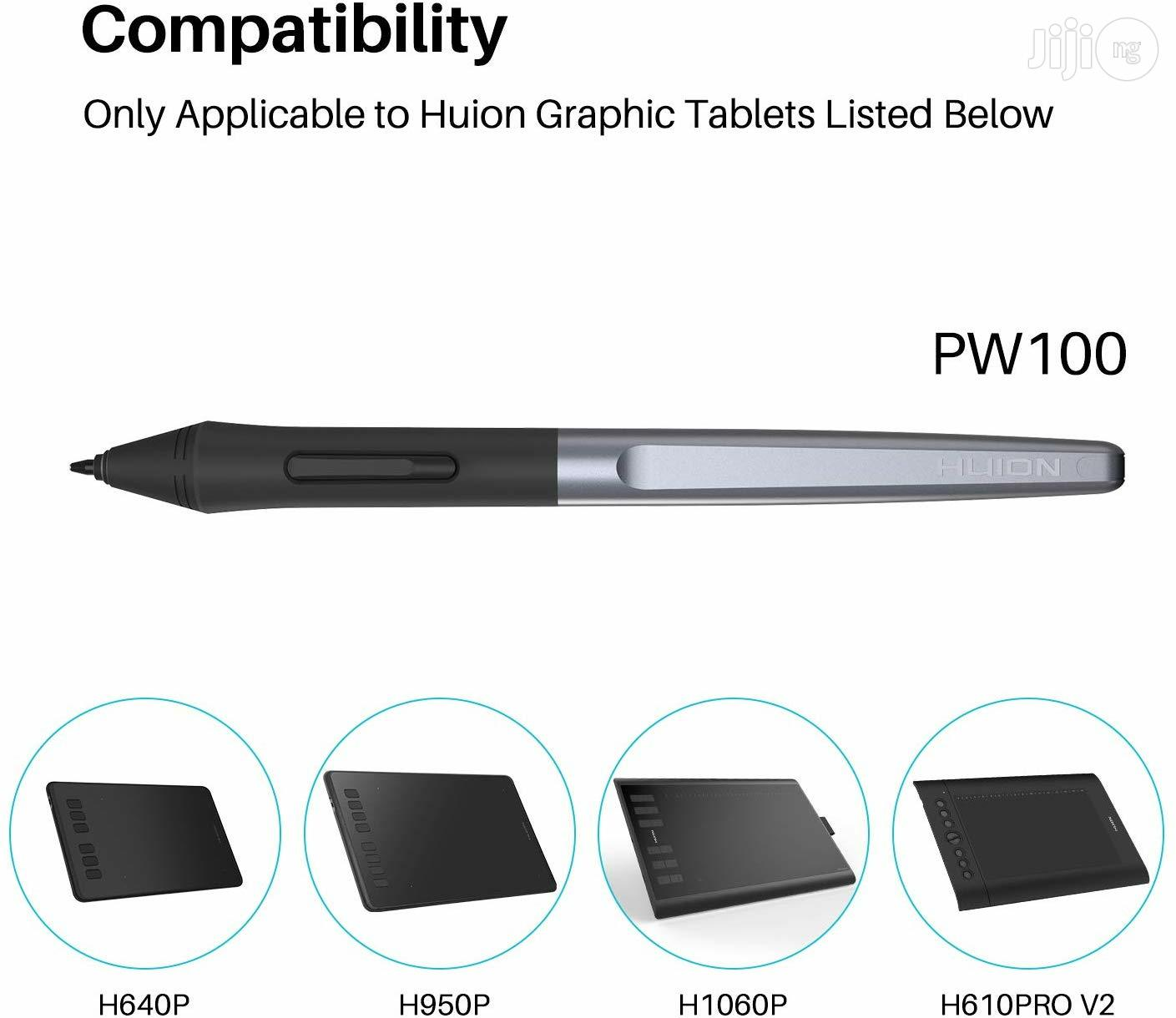 P USA Huion PW100 Battery-free Stylus For Huion Inspiroy   Accessories for Mobile Phones & Tablets for sale in Alimosho, Lagos State, Nigeria