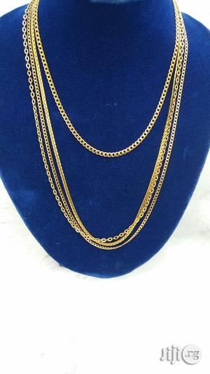Pure Stainless Steel Gold Chain and Necklace | Jewelry for sale in Lagos State, Lekki