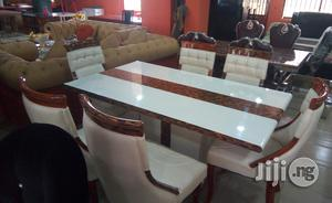 Marble Dining Table.   Furniture for sale in Lagos State
