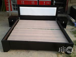 6 By 6 , Bed Frame With 2 Side Cabinet   Furniture for sale in Lagos State, Lekki