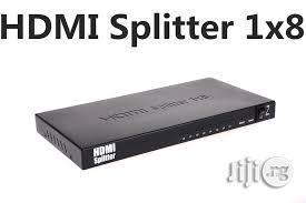 HDMI 1x8-Port Splitter | Accessories & Supplies for Electronics for sale in Lagos State, Ikeja