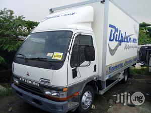 Mitsubishi Canter 2002 White | Trucks & Trailers for sale in Lagos State, Apapa