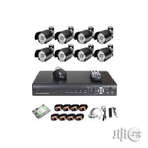 CCTV CCTV 8 Camera Security Recording System   Security & Surveillance for sale in Lagos State, Ikeja