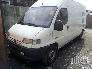 Peugeot Boxer 2000 White | Buses & Microbuses for sale in Lagos State, Apapa