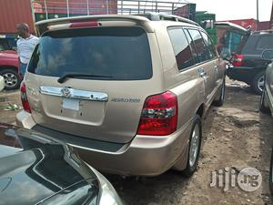 Toyota Highlander 2006 Gold | Cars for sale in Lagos State, Apapa