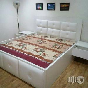 """Bed """"Leather Padded""""   Furniture for sale in Lagos State, Ikeja"""