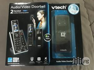 VTECH 2-handset Cordless Answering System (Also An Intercom System) With Audio/Video Doorbell - Phone   Home Appliances for sale in Lagos State, Magodo