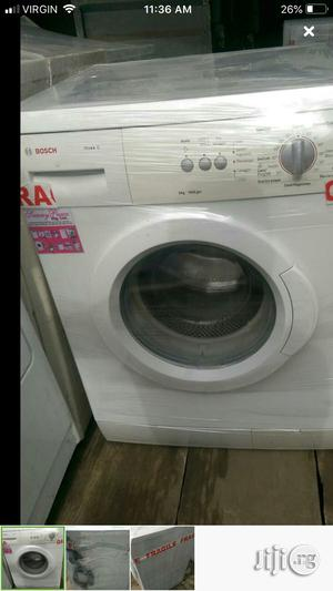 Bosch Washing Machine 8k With 2 Yeas Warranty   Home Appliances for sale in Lagos State, Ojo