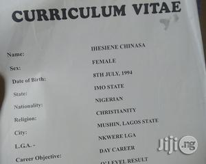 Office Cv | Office CVs for sale in Lagos State, Mushin