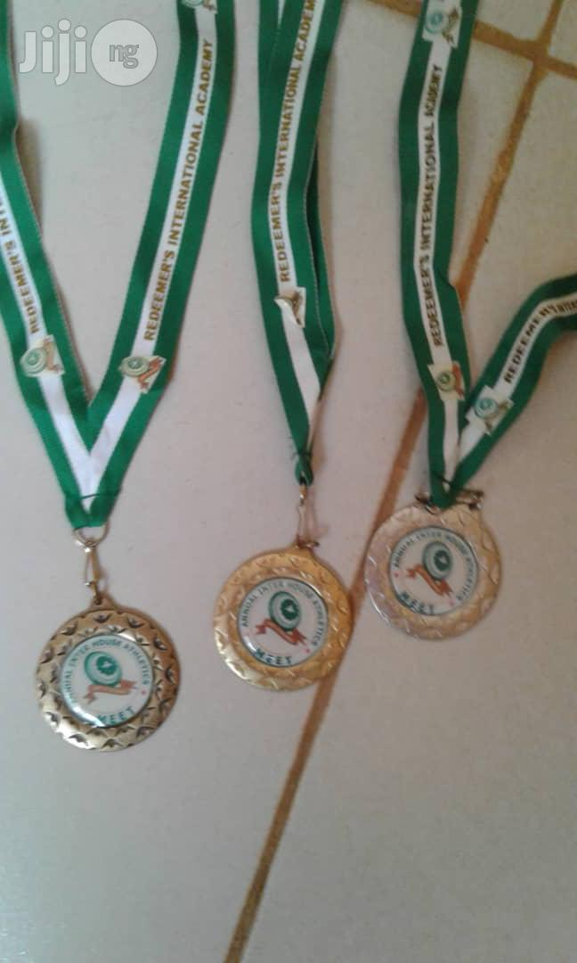 Medal With Print