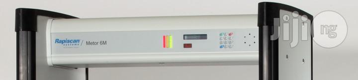 Archive: Rapiscan 6M Walkthrough Metal Detector