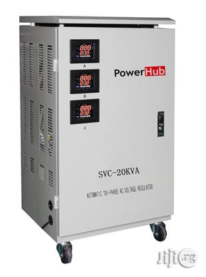 Powerhub 20KVA 3face Servo Stabilizer   Electrical Equipment for sale in Lagos State, Ikeja