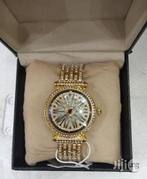 Forcast Unisex Gold Wristwatch   Watches for sale in Lagos State, Surulere