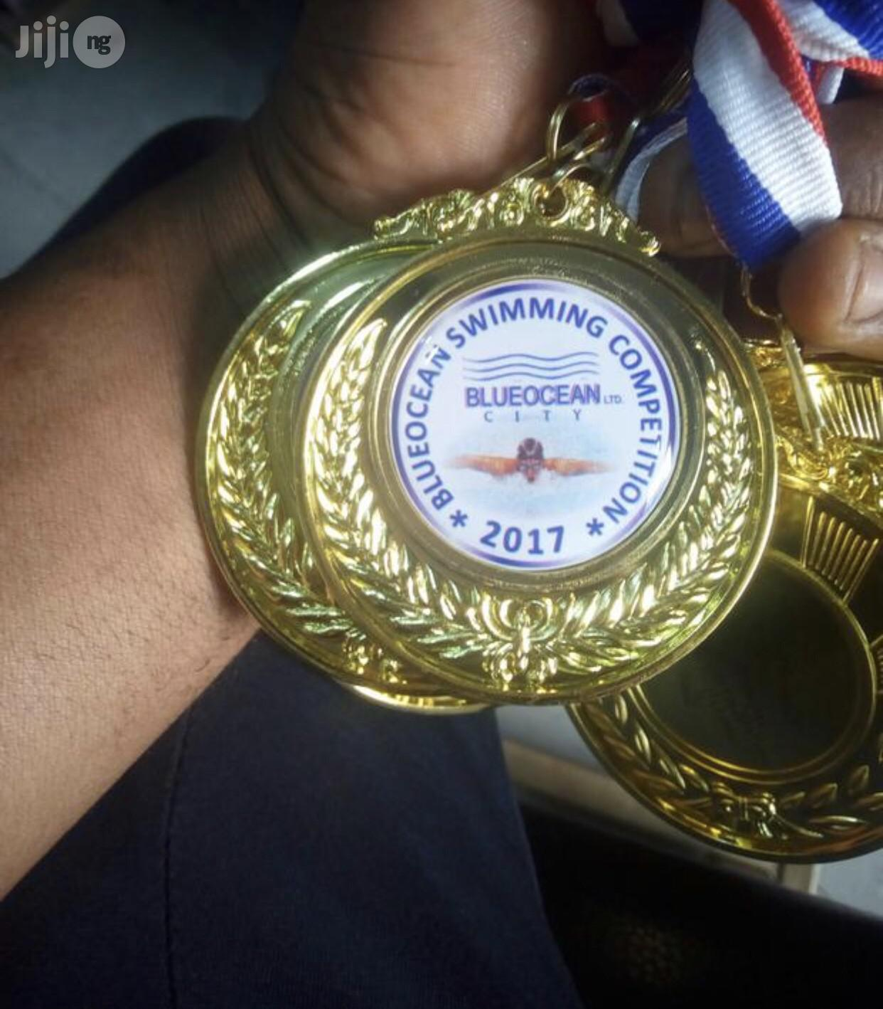 Medal With Printing