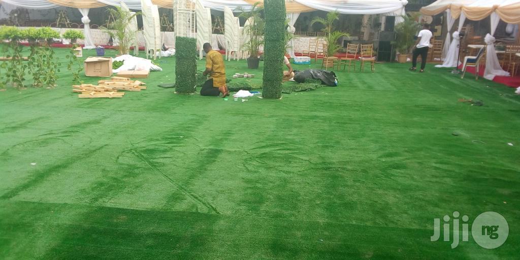 Artificial Green GRASS For Rent In Niger Ikeja Lagos