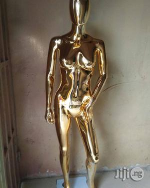 High Quality Silver and Gold Chrome Mannequins   Store Equipment for sale in Lagos State, Lagos Island (Eko)