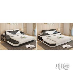 Apex Luxury Leather Bed 6 by 4.5 | Furniture for sale in Lagos State, Agege