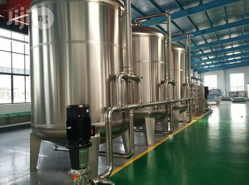 Water Treatment Plant Tanks. (Stainless Steel and Fibre)   Manufacturing Equipment for sale in Ojo, Lagos State, Nigeria