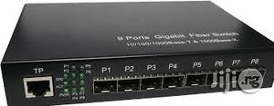 8-Ports SFP Slot Optical Fiber Switch | Networking Products for sale in Lagos State, Ikeja