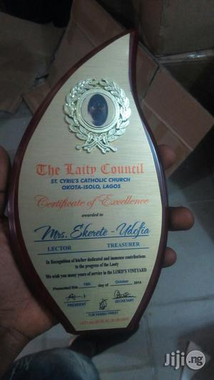 Wooden Plaque Award | Arts & Crafts for sale in Lagos State, Ikeja