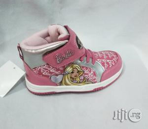Disney Princess High Top Canvas Sneakers for Girls   Children's Shoes for sale in Lagos State, Lagos Island (Eko)